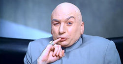 Dr Evil in Austin Powers